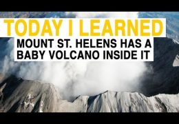 There's a Baby Volcano Growing Inside Mount St. Helens
