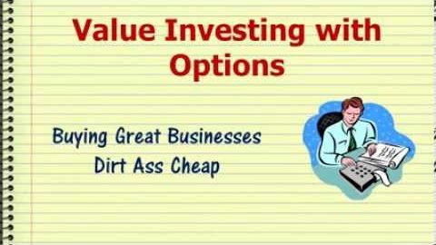 How To Buy Great Businesses Dirt Ass Cheap