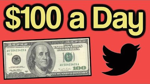 How to Make $100 a Day with Twitter