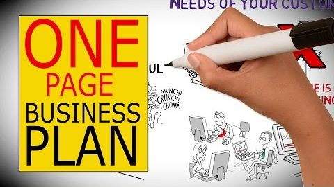 How to Write a Business Plan On a Single Page