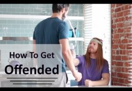 Step Up Your Game, Dammit!: Get Offended!