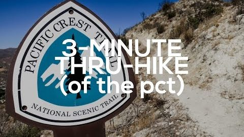 The Entire Pacific Crest Trail in 3 Minutes
