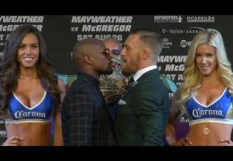 Mayweather vs McGregor: Final Press Conference