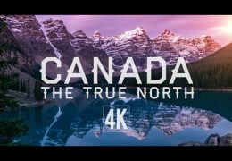 West Canada by Drone (4K)